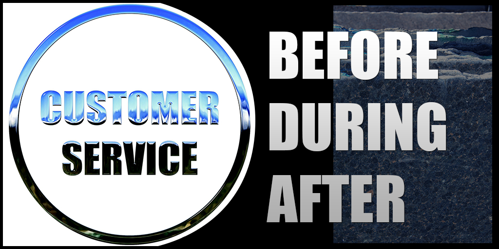 Service Before During After