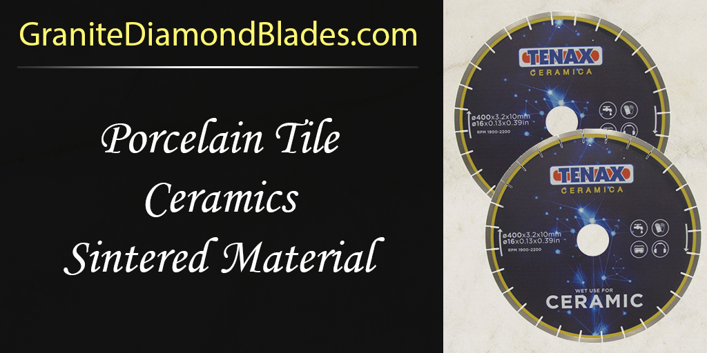 Sintered Material Blade