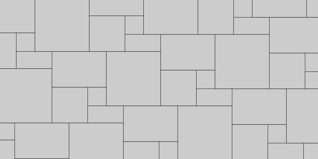 5 Stone Paver Patio Pattern Example