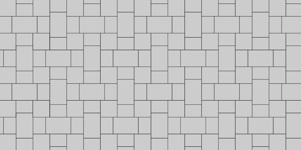 3 Stone I Pattern Paver Patio Pattern Example